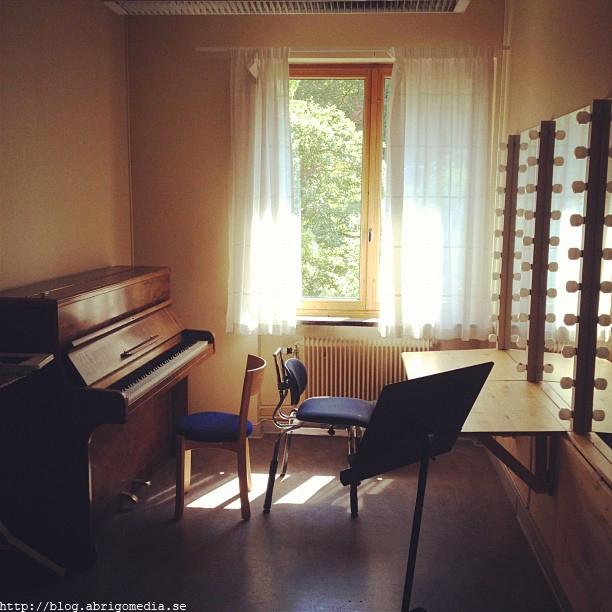 Rehearsal room by Paul Philip Abrigo.