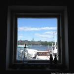 Stockholm Archipelago seen through a window by Paul Philip Abrig