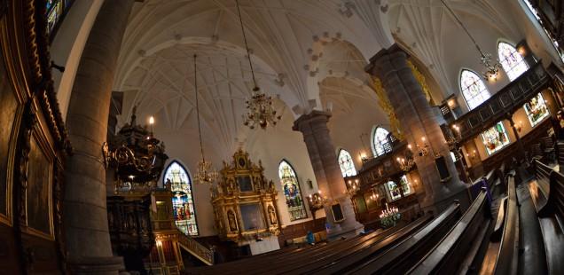 Wide angled Church