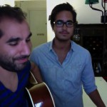 Serkan Gunes and Paul Philip Abrigo jam pic